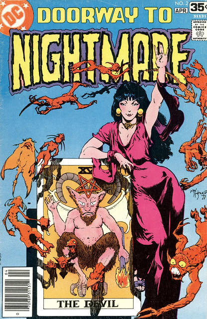 Doorway To Nightmare 2 1977 cover by Michael Kaluta