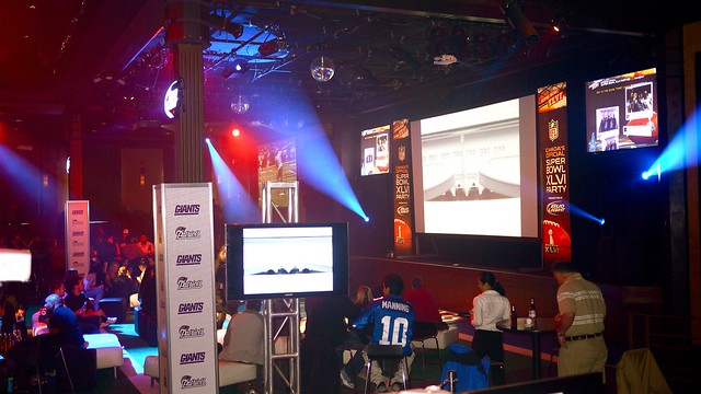 NFL Super Bowl XLVI Party | Commodore Ballroom