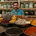 Spice Vendor in Esfahan, Iran
