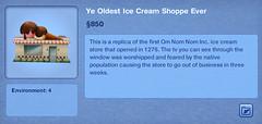 Ye Oldest Ice Cream Shoppe Ever