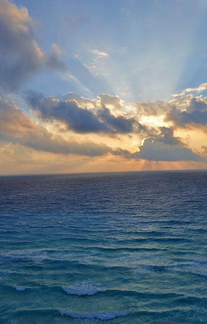 Sunrise in Cancun, Mexico