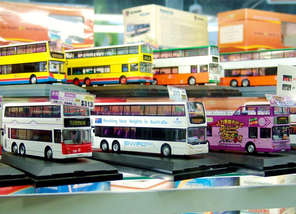 香港旺角 80m巴士模型專賣店2 bus models shop mong kok hong kong