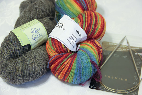 Yarn order arrived