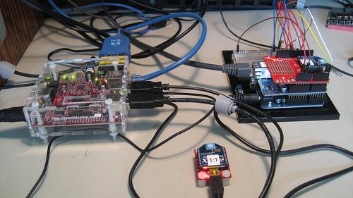 Chip overclock arduino to android on beagleboard via zigbee