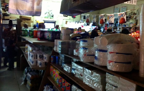 Inside Roxie's Grocery, Memphis, Tenn.