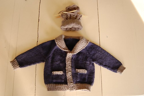 Baby Old Man Sweater