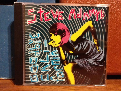 Steve Adamyk - Goodbye California CD by Tim PopKid