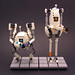 Atlas & P-Body Wedding Cake Toppers by Legohaulic