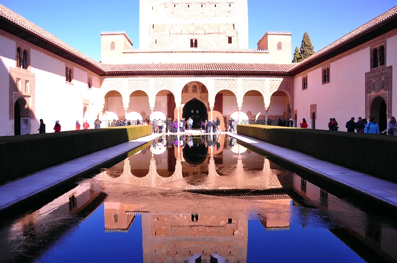 Pool Reflections, Nasrid Palace...The Alhambra, Granada, Spain