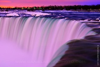Down They Go, Horseshoe Falls in Winter, Niagara Falls, Canada (DTB_0134)