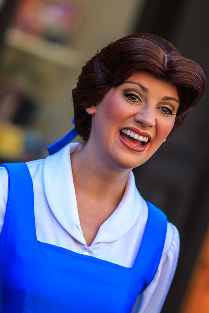 Disney's Hollywood Studios:  Belle Looking Beautiful