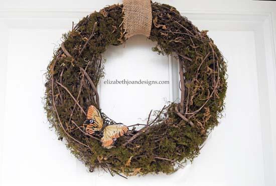 Spring Moss Wreath 8