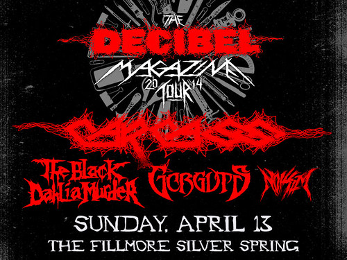 Carcass at the Fillmore Silver Spring
