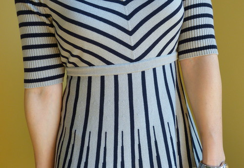scalloped + striped