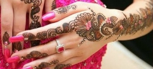 Latest Glitter Bridal Mehndi Designs (26)