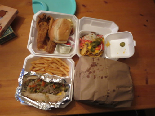 Dinner from Gyro House