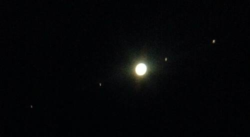 Jupiter with iPhone in a telescope