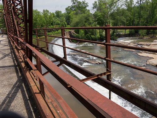 Glendale Mill Dam bridge - 05