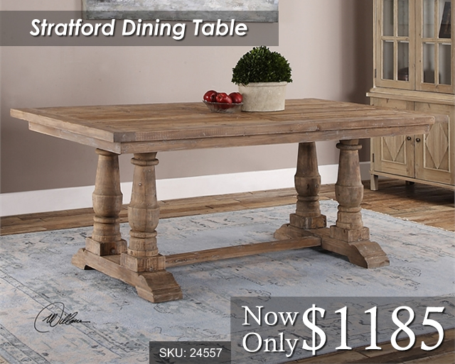 24557 Stratford Dining Table