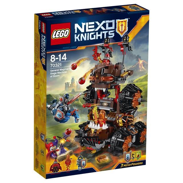 LEGO Nexo Knights 70321 - General Magmars Schicksalsmobil