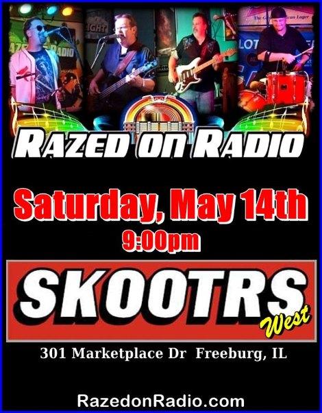 Razed On Radio 5-14-16