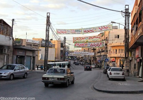 Banners on the Streets of Madaba