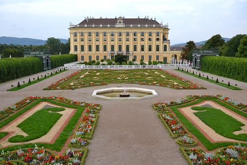 Jardines del Principe Heredero en Schönbrunn