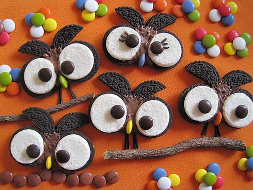 10.3 Saboragalletas-Oreo Owl Cookies