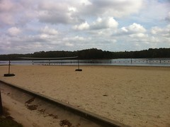 Caney Lake Beach