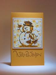 111126 Linda christmas Snowman & Friend