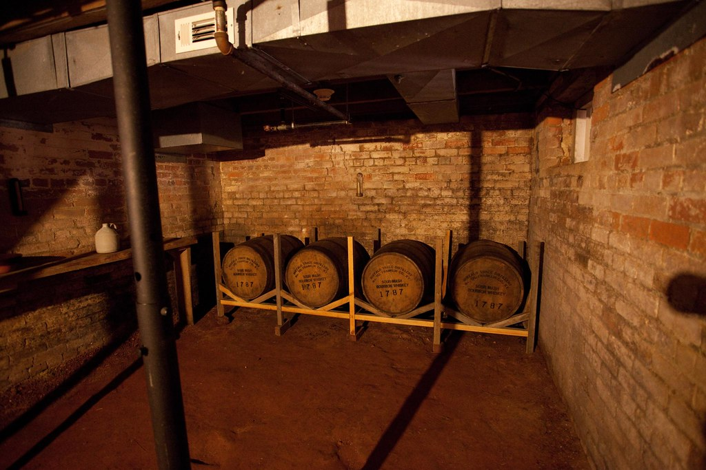 Basement, Four bbls of hard liquor