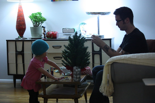 Decorating with Dad