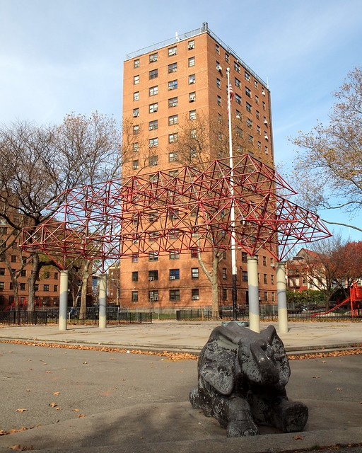 Harlem New York Apartments: Jefferson Public Housing, East Harlem, New York City