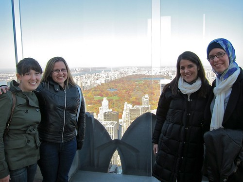 Girls at the Top of the Rock