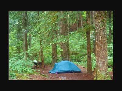 Camping du Parc Kokanee (Colombie-Britannique, Canada)