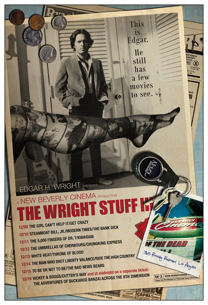 The Wright Stuff III / Movies Edgar Has Never Seen
