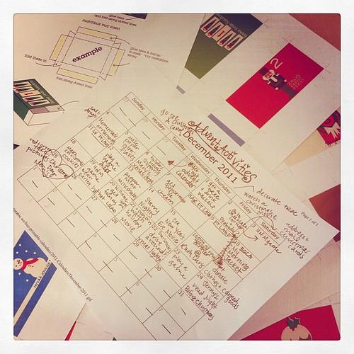 25 days of #christmas #adventcalendar #activities...blog post coming tomorrow #sneekpeek