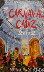 Cartel Carnaval Cadiz 2012