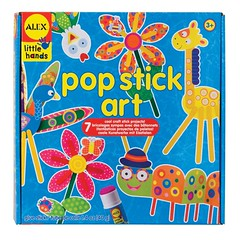 pop stick art