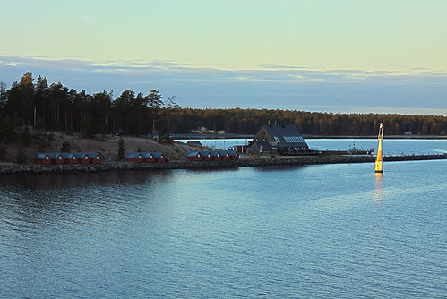 trees sea lighthouse house seascape landscape boat day view forrest sweden hdr lulea cotage mygearandme