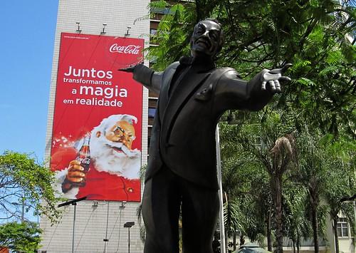 2011 Santa Claus Coca-Cola Billboard and Braguinha composet Copacabana - Rio de Janeiro 2 by roitberg