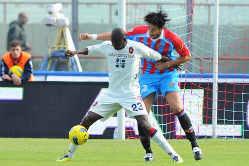 Catania-Cagliari 0-0, le pagelle di SiciliaToday, Spolli il migliore tra gli etnei$