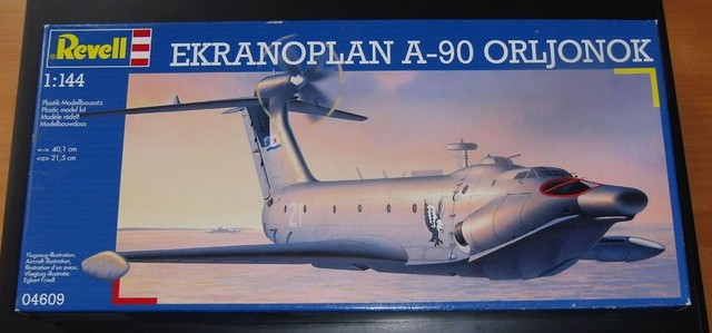 Ekranoplan A-90 Orljonok [Revell 1/144] MAJ au 15/05/12 : Voilaaaaaa c'est fini 6455579733_671f9f91d3_z