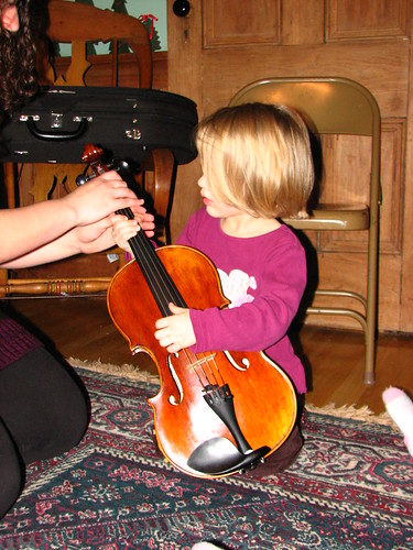 she loved the viola