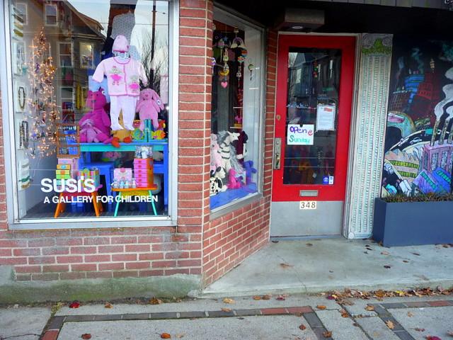 Huron Village - Susi's: A gallery for children, Cambridge, MA