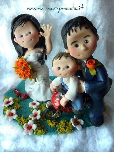 giovannadilasci-cake-toppers-matrimonio-con-moto-e-figlio