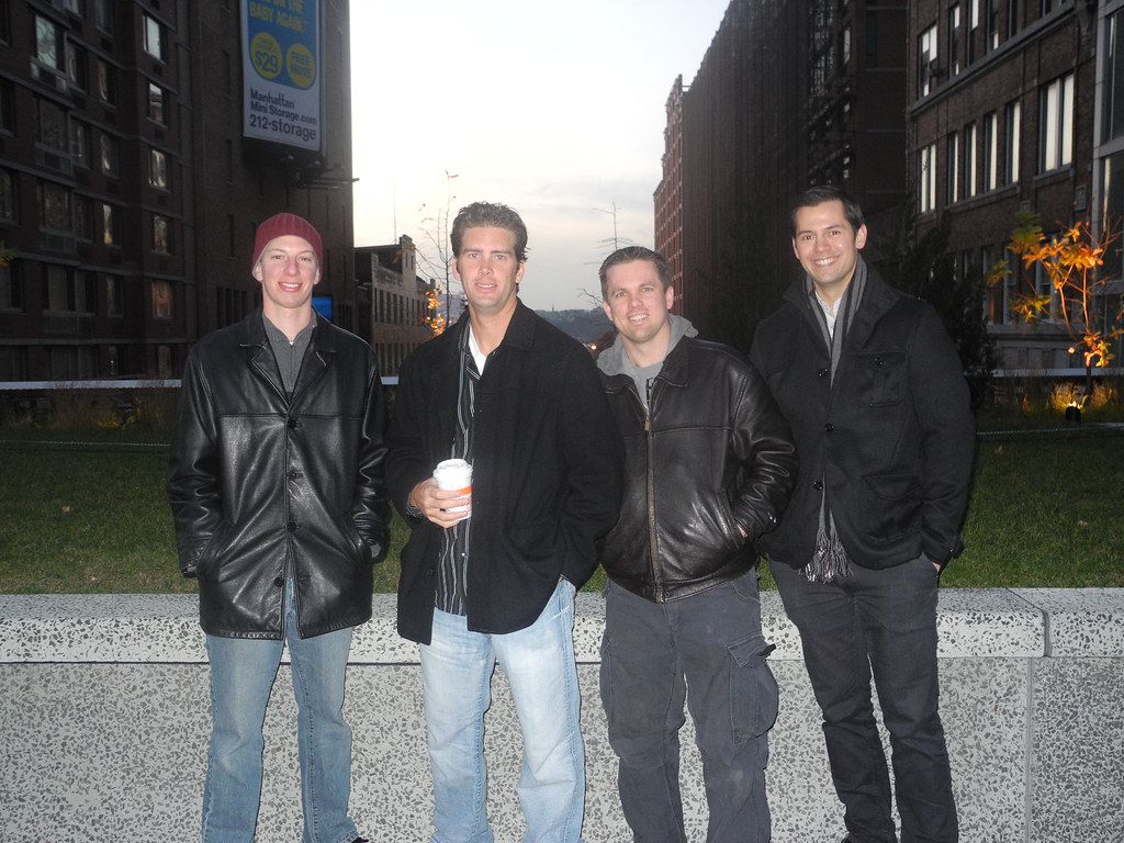 The High Line - New York City - Dave, Dave, Erik & Luke