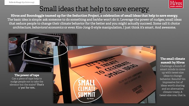 Hivos' small ideas that help to save energy