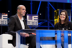 Loic LeMeur, Joanna Shields at LeWeb 11 Day 1 Afternoon @ Les Docks Paris-0313