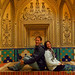 Audrey & Dan at Hamam in Kashan, Iran
